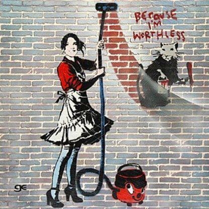 Banksy grafitti