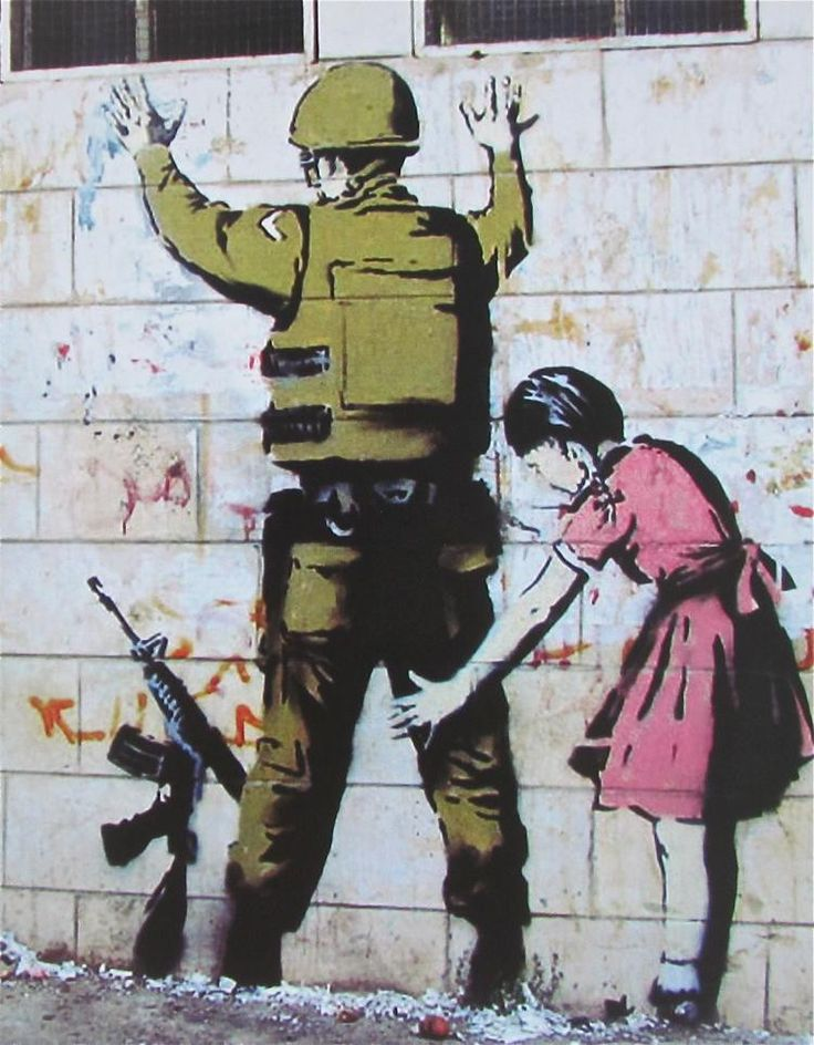 Banksy streetart british