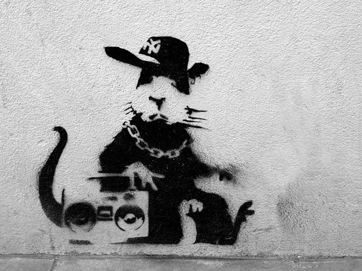Banksy streetart