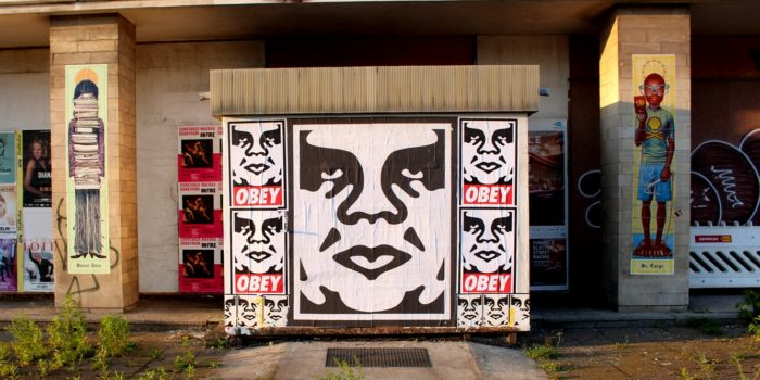 Image result for obey posters in streets