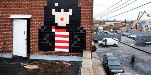 space-invader-pixelise