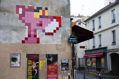 PA-1039 - La panthère rose - Quartier Léon Blum - Folie-Régnault 11è