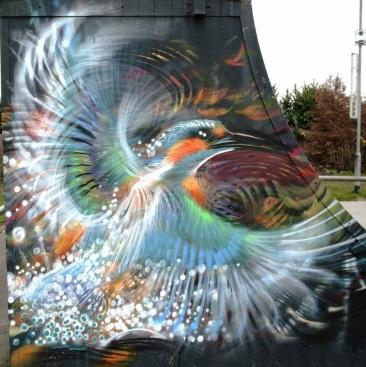 Bird Street Art Brazil L7m