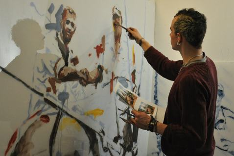 borondo-street-art-at-studio