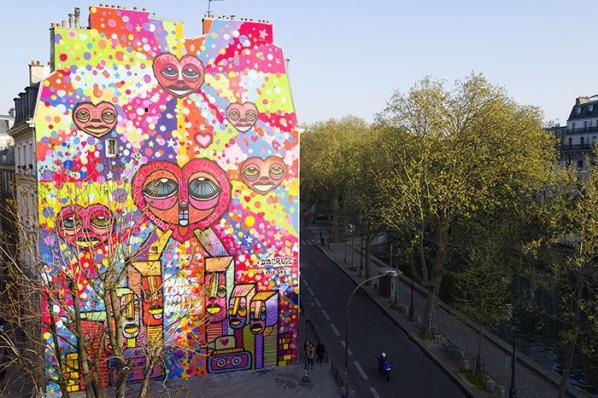 da cruz wall street art paris