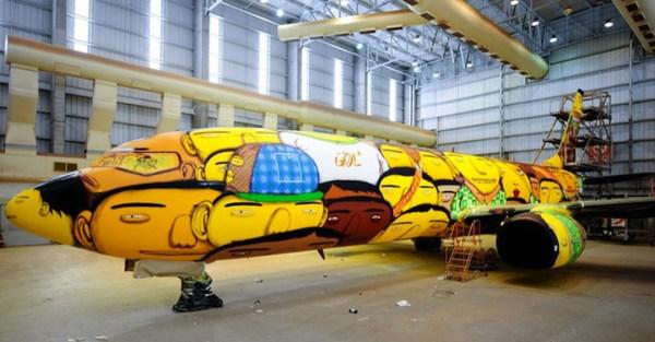Os-Gemeos-Boeing-street-art-Brazil-World-Cup