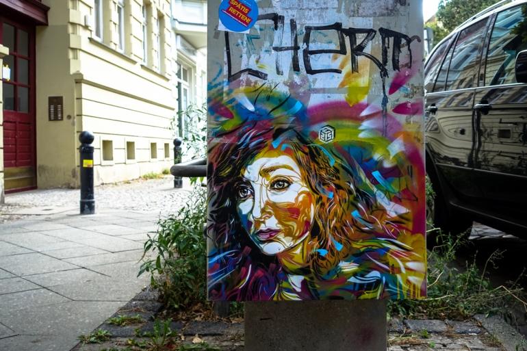 stencil - c215 - berlin, mitte