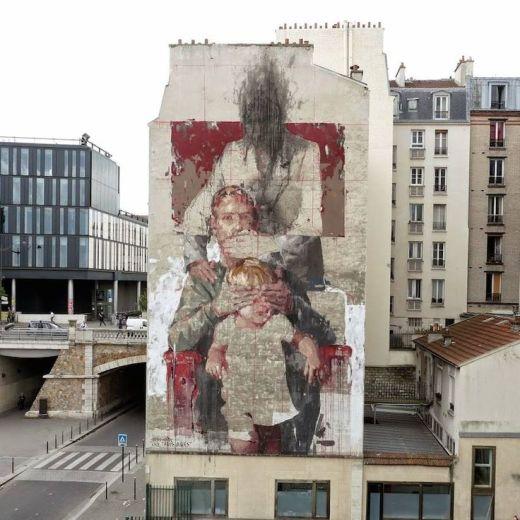 street-art-gonzalo-borondo-spain-madrid