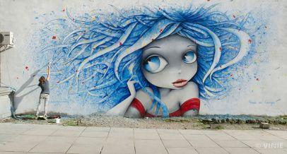 vinie graffiti street art paris