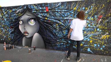 vinie graffiti wall